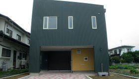 ガルバリュームの家